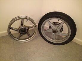 Honda tyre & wheels