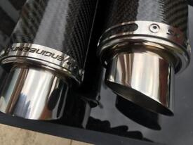 Triumph street triple sp engineering slip on cans exhaust