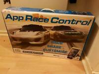 Scalextric app race control track