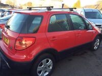 Fiat Sedici Diesel 4 wheel drive Sale/Finance CAR FINANCE SPECIALISTS Forth Carz