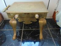 Vintage Brass Table
