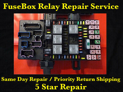 Ford Expedition Lincoln Navigator 2003 - 2006 Fuse Box Fuel Pump Relay Repair -
