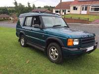 w reg land rover discovery td5 5 months m-o-t,towbar,Manual,first to see will buy £1295ovno