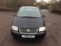 Bargain Bargain 2006 Volkswagen Sharan 1.9L Diesel Semi-Auto 7Seater Family Car Long mot Cheap £1389