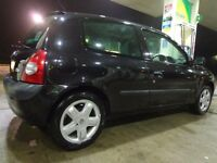 2004 top spec renault clio 1.5 dci diesel with long mot cheap tax only £20 a year and FREE DELIVERY