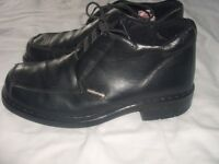 GENTS BLACK KICKERS BOOTS SIZE 8 GREAT CONDITION