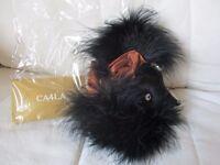 Brand New CA4LA feather fascinator