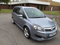2008 Vauxhall Zafira 1.8 Sri xpack 12 months mot 3 months parts and labour warranty
