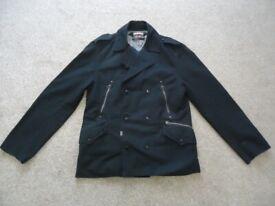 Levi's Double Breasted Jacket (size: Large)