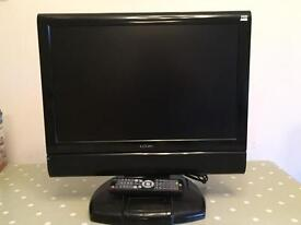 "Logik 19"" LCD TV /DVD Combo with docking station"