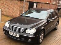 Mercedes-Benz 2006 C Class 2.1 C220 CDI Avantgarde SE 4dr ** AUTOMATIC ** DIESEL ** 12 MONTH MOT