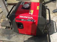 Honda EU26i generator