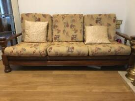 Wooden chair set of 3 + 4 (single)