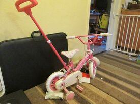 for sale little girls bike