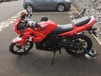 Lexmoto xtrs 125 motorbike