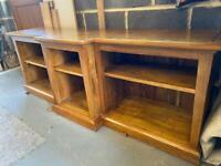 Wooden TV standard / Storage Unit - sold