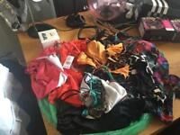Bag of bikinis bundle never worn at all, all different makes