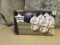 *Brand New *Tommee Tippee Bottles & Extra Teats