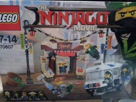 Lego ninjago movie sets and collectible minifigures. Brand new. Priced individually