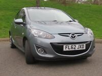 MAZDA 2 VENTURE EDITION 2012, 1.3 PETROL, £30 ROAD TAX ONE PREVIOUS OWNER FINANCE AVAILABLE £27/WEEK