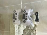PS4 double shock controller BRAND NEW- White