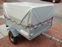 Trailer for sale 4ft x3ft galvanised, 75kg, 375kg capacity