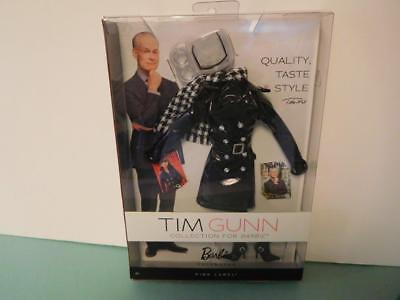 Barbie Fashion from Tim Gunn Collection  for Barbie - Coat & Accessories.