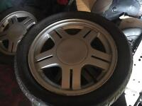Genuine ford Rs 2000 escort alloys set of 4. Getting rare now