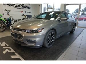 2017 Chevrolet Malibu LT - Leather, Sunroof, Low KM