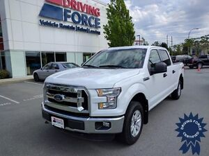 2016 Ford F-150 XLT Super Crew 4x4 - 37,060 KMs, 5.0L V8 Gas