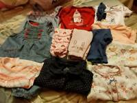 baby girls clothes bundle - up to 1 month