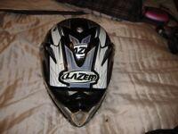 motocross helmet large by lazer