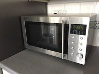 Sharp R28STM Microwave Oven 800W Stainless Steel
