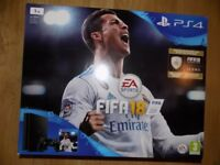 brand new ps4 1tb slim console buy with fifa 18 or with out