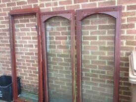 Timber conservatory window