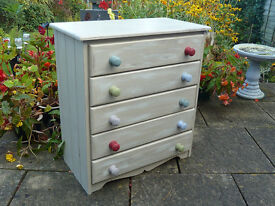 Shabby Chic Pine drawers