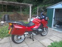 BMW R1200RT 19000 miles FSH, over £500 of extras