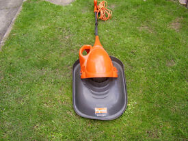 one handed flymo mower