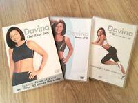 Davina McCall - The Power Of 3/My Three 30 Minute Workouts (DVD, 2006, Box Set)