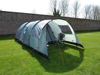 Vango Icarus 500 Tent + Canopy + Footprint - 5 Man family