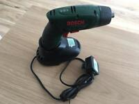 Bosh cordless impact driver with charger