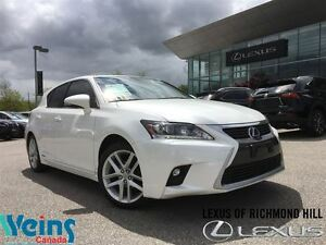 2015 Lexus CT 200h TECH/NAVIGATION PKG.