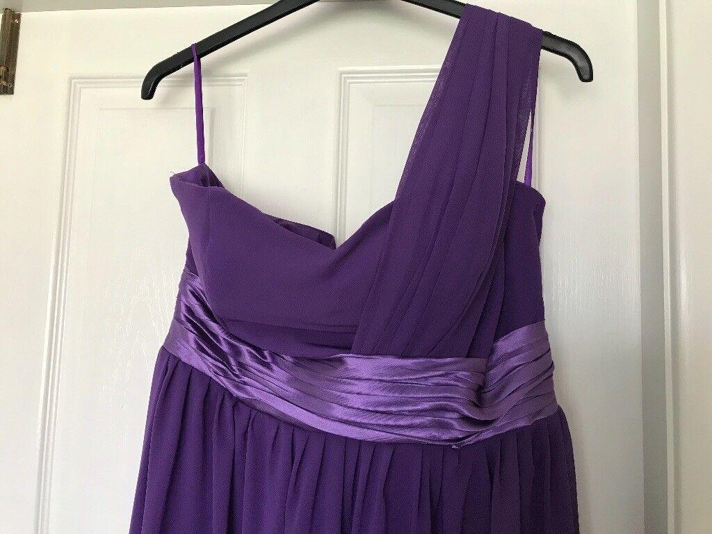 Purple Bridesmaid Prom Dress size 14 | in Penwortham, Lancashire ...