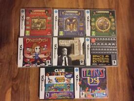 Nintendo DS games £5 each