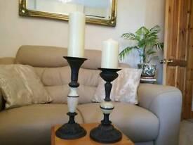 Candlesticks x 2