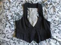 New look Black waistcoat