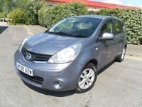 2009 NISSAN NOTE 1.4 ACENTA MPV LOW MILEAGE YEAR MOT VERY ECONOMICAL & RELIABLE