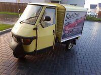 Piaggio Ape 50cc Van - Tuk Tuk