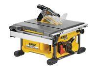 Dewalt table saw flexi volt tool ony