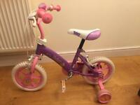 12 inch fairy bike with stabilisers